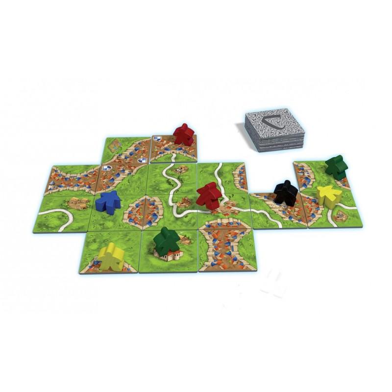 Carcassonne tablero juego de mesa
