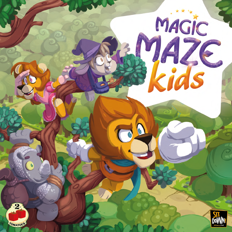Juego cooperativo Magic Maze Kids