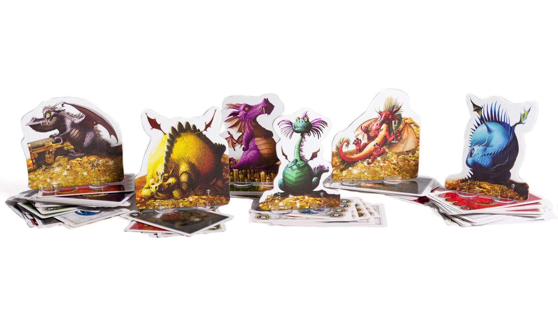 Dragones del juego de cartas El Tesoro de los Dragones de Tranjis Games