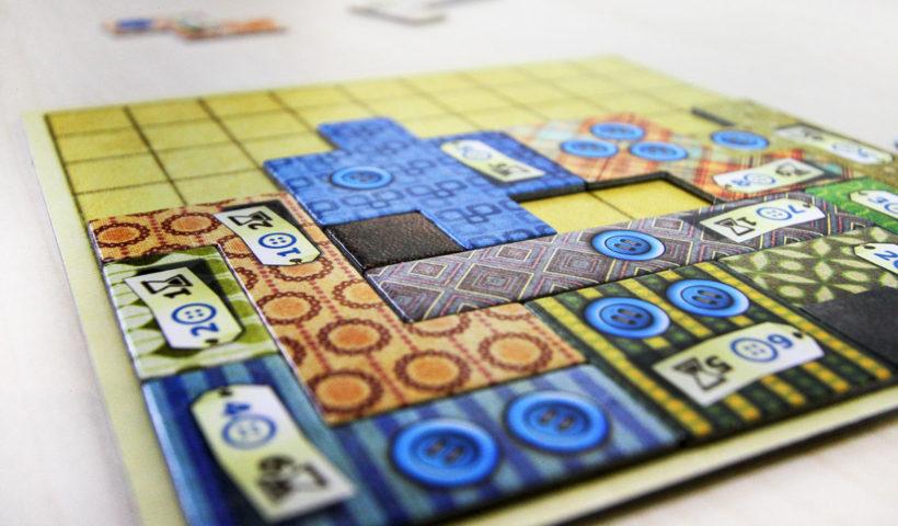 Tablero individual juego de mesa Patchwork