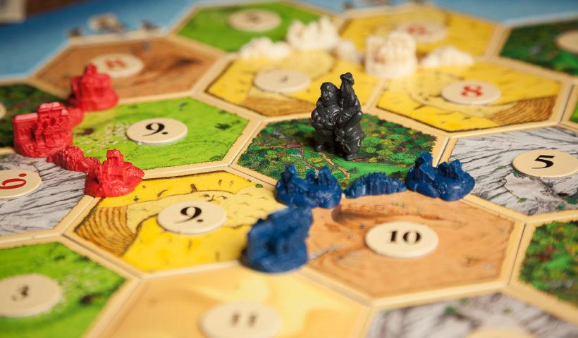 Tablero juego de mesa Los Colonos de Catán