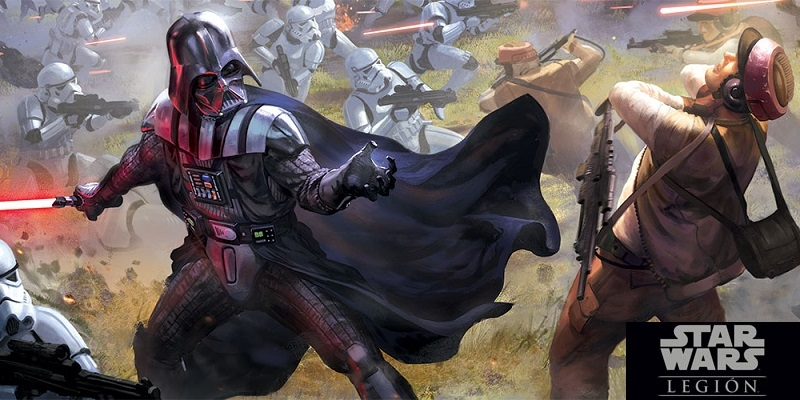 Star Wars: Legion is a competitive game in which each player controls a contingent of soldiers, vehicles and heroes who wage trepidantes skirmishes in a galaxy desolated by the war