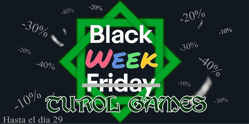 Direct discounts on each product during Black Week 2020 on all our products