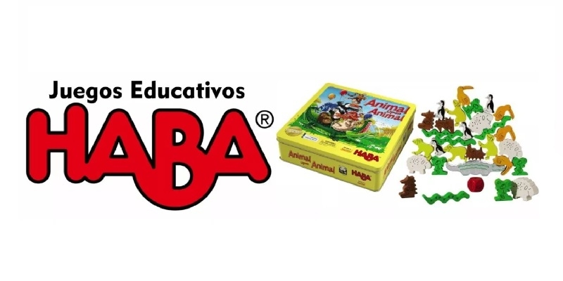 All the educational board games focused on children from the Haba publishing house