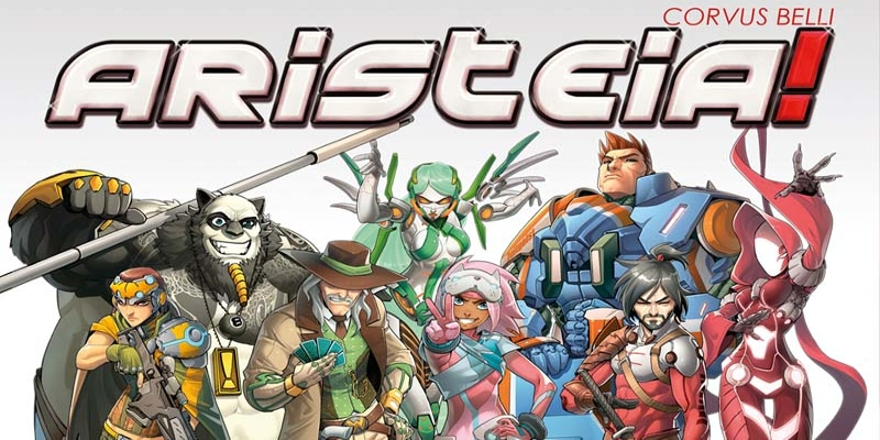 Aristeia! The new miniatures board game by Corvus Belli